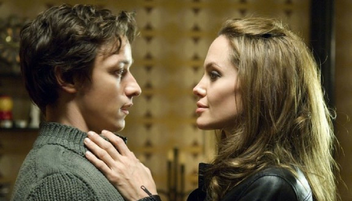 James McAvoy e Angelina Jolie