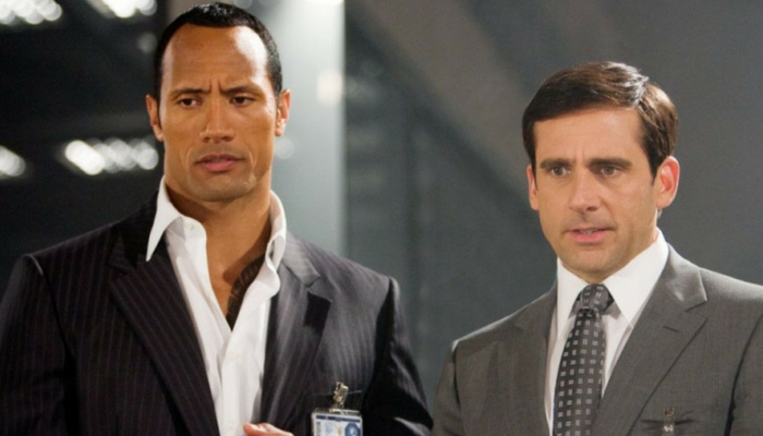 Steve Carell e Dwayne Johnson