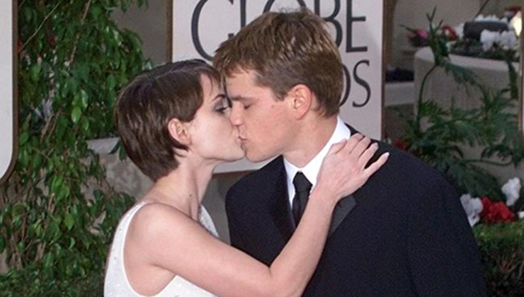winona ryder matt damon coppie di hollywood