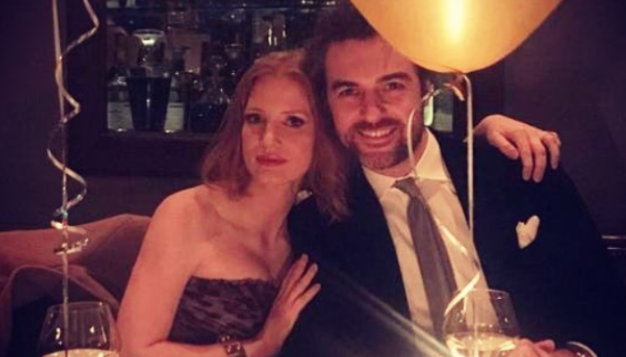 Jessica Chastain e Gian Luca Passi