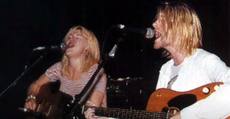 Courtney e Kurt